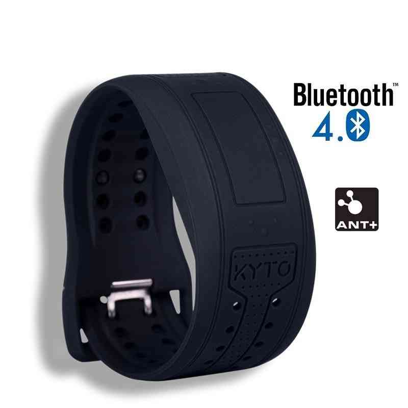 Heart Rate Monitor Wristband Watch, Ant+ Hrv Bracelet For Cycling Fitness