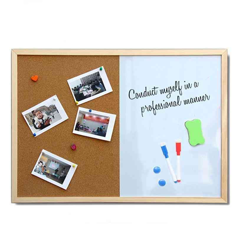 Magnetic Marker Board For Message, Drawing Combination