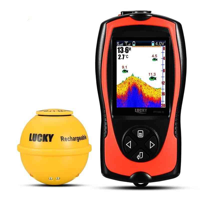 Rechargeable Wireless Sonar For Fish Finder