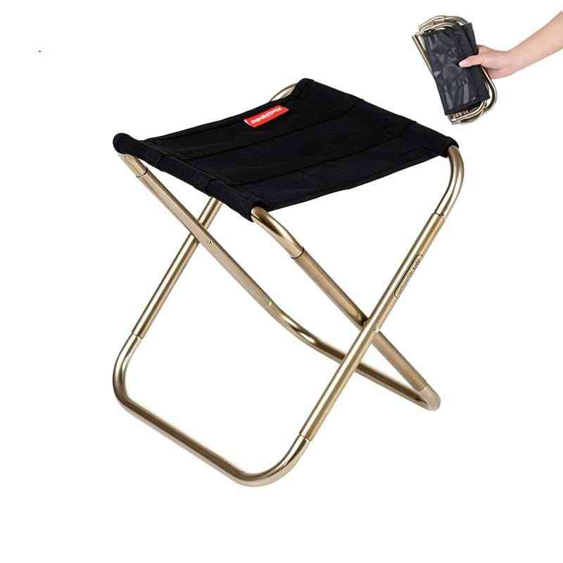 Outdoor Portable, Folding Fishing, Camping Seats, Hiking Stool