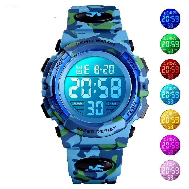 Kids Sport Watches - Electronic Wristwatch Stop Watch