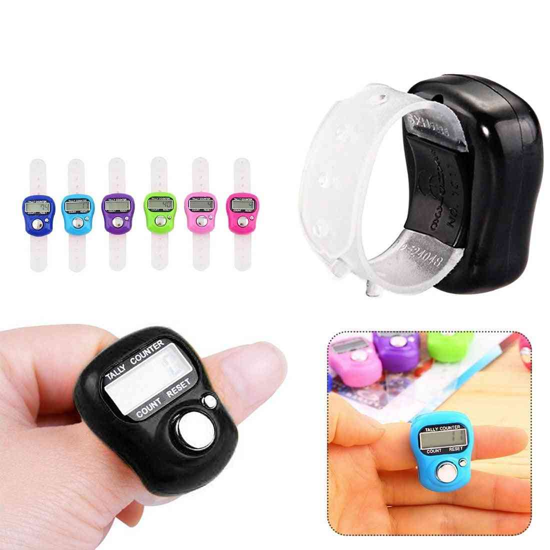 Lcd Electronic Digital Tally - Stitch Marker And Row Finger Counter