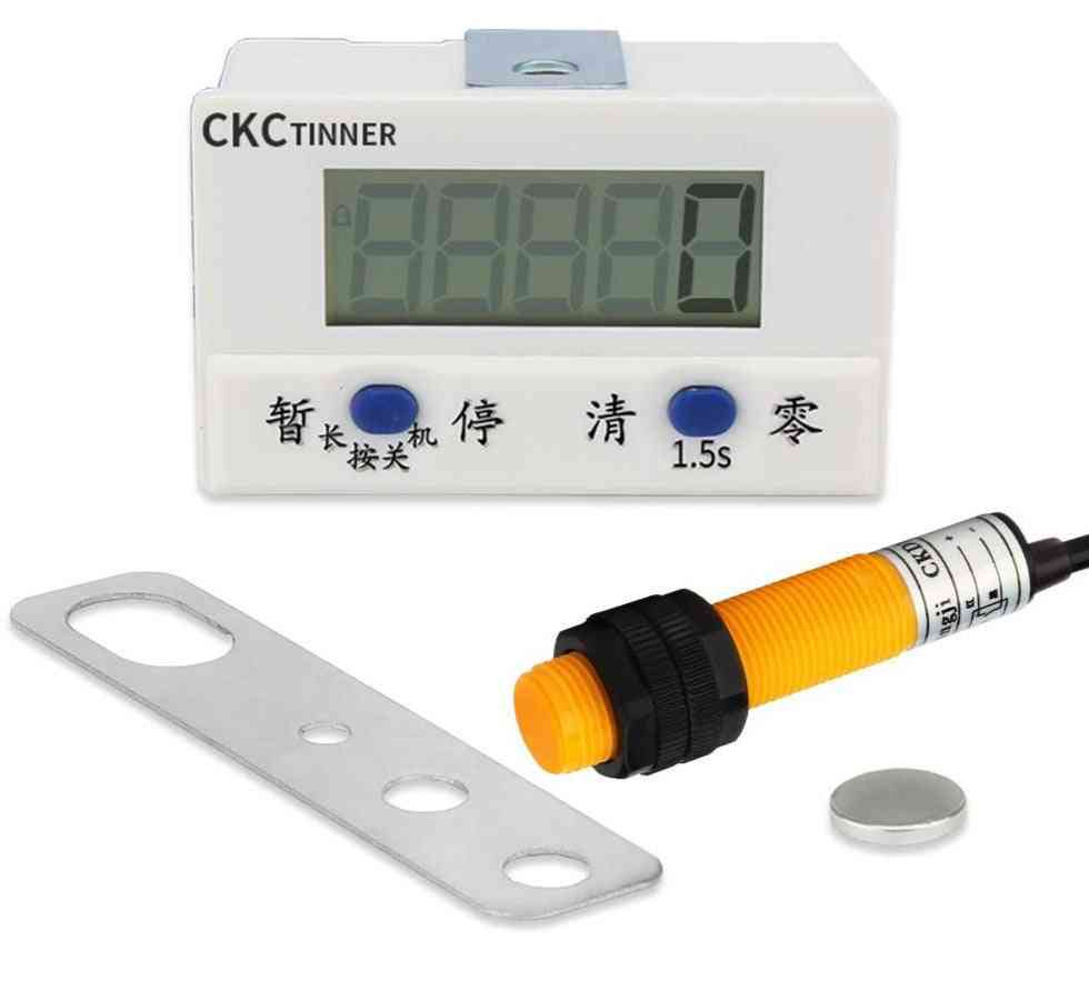 Electronic Digital Display Counter, Proximity Industrial Magnetic Sensor, Automatic Induction Counter
