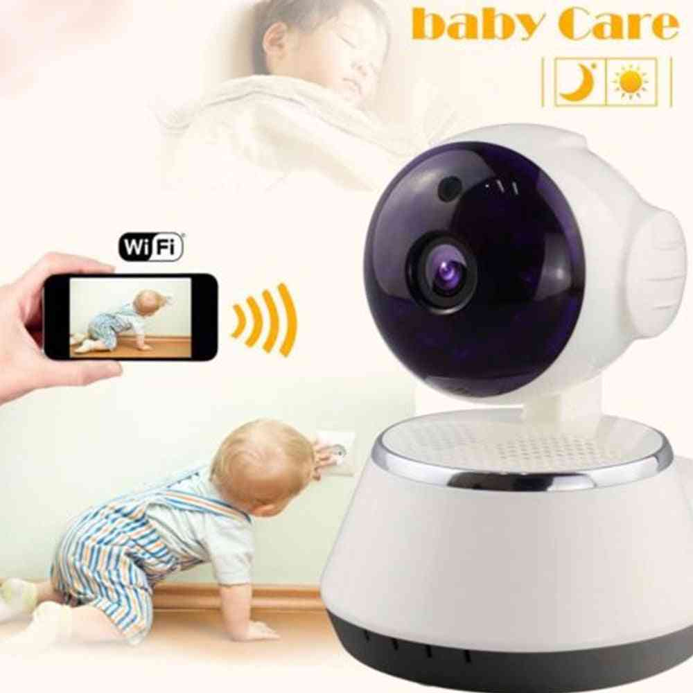 Wireless Monitor With Wifi Ip, Smart Night Vision For Home Audio Record