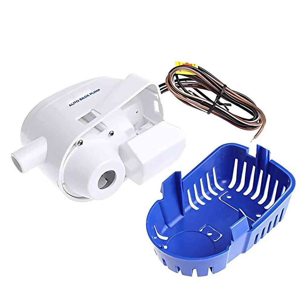 Bilge Pump Yacht Durable Accessories Fully Automatic Submersible Boat Water Houseboat
