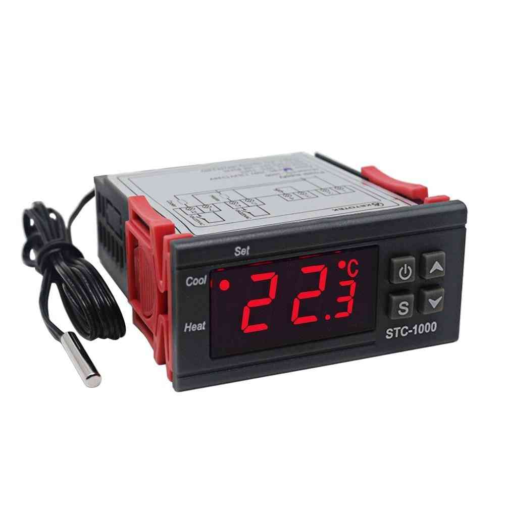 Digital Temperature Controller, Thermostat Incubator Relay Heating & Cooling