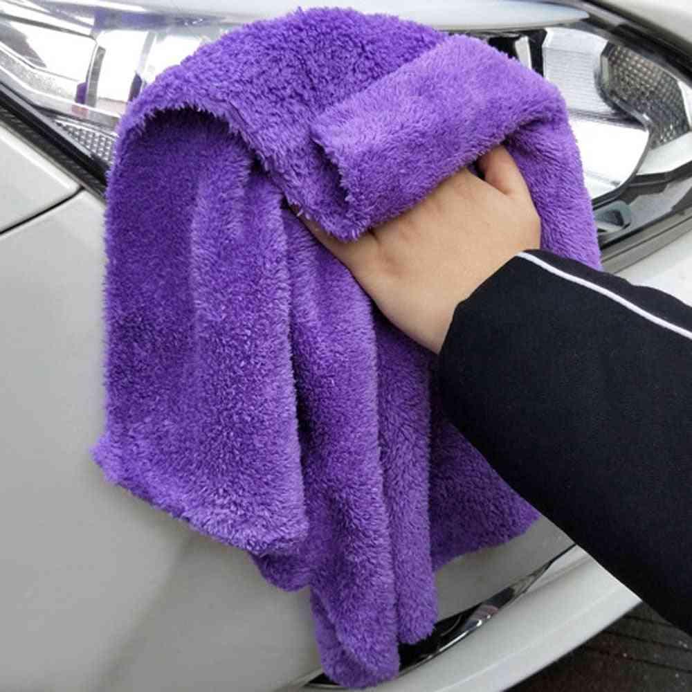 Soft Edgeless Car Washing Drying Towel