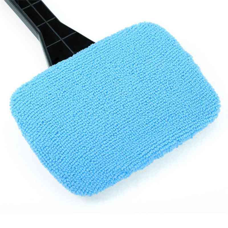 Window Brush Microfiber Wiper Cleaner Cleaning Brushes With Cloth Pad