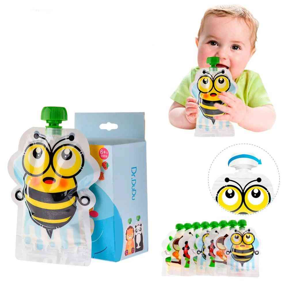 Reusable Baby Food Storage Pouch