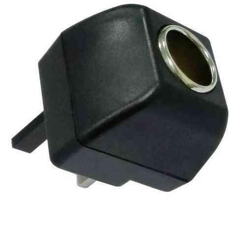 Ac Adapter With Car Socket Auto Charger Eu Plug