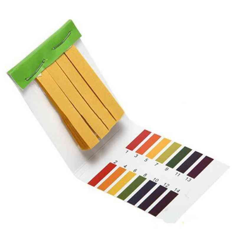 Professional 1-14 Ph Litmus Paper Ph Test Strips-water Cosmetics Soil Acidity With Control Card