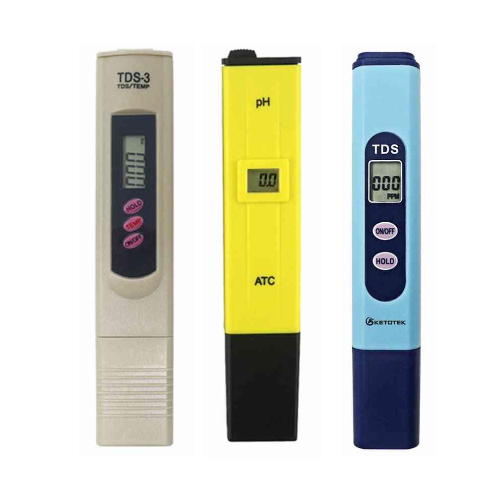 Portable Digital Ph Water Tester-meter Pen For Drink Aquarium