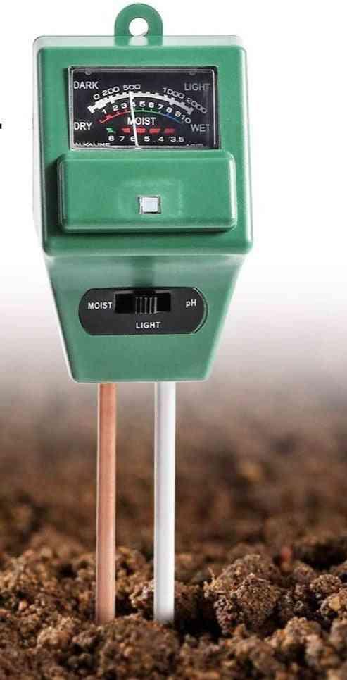 Digital Sunlight Ph Meter Testerb For Plants Flowers, Acidity Moisture Measurement