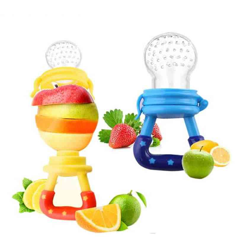 Baby Pacifiter Fruit Vegetable Feeder, Toddler Feeding Nipple Soother