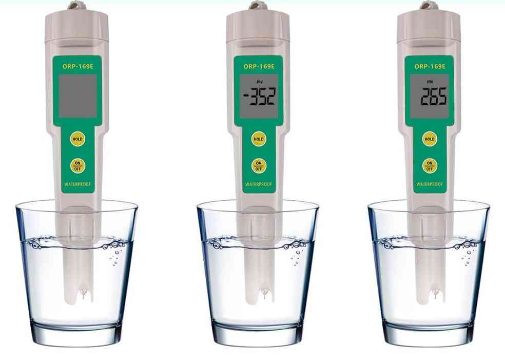 Tester Waterproof Orp Meter Water Quality Monitor Pen Tester