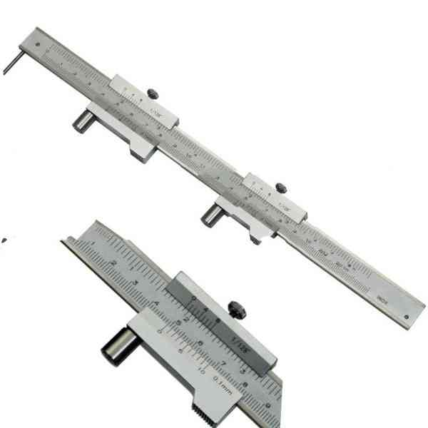 Marking Vernier Caliper With Carbide Scriber Needle  Parallel Marking Gauging Ruler