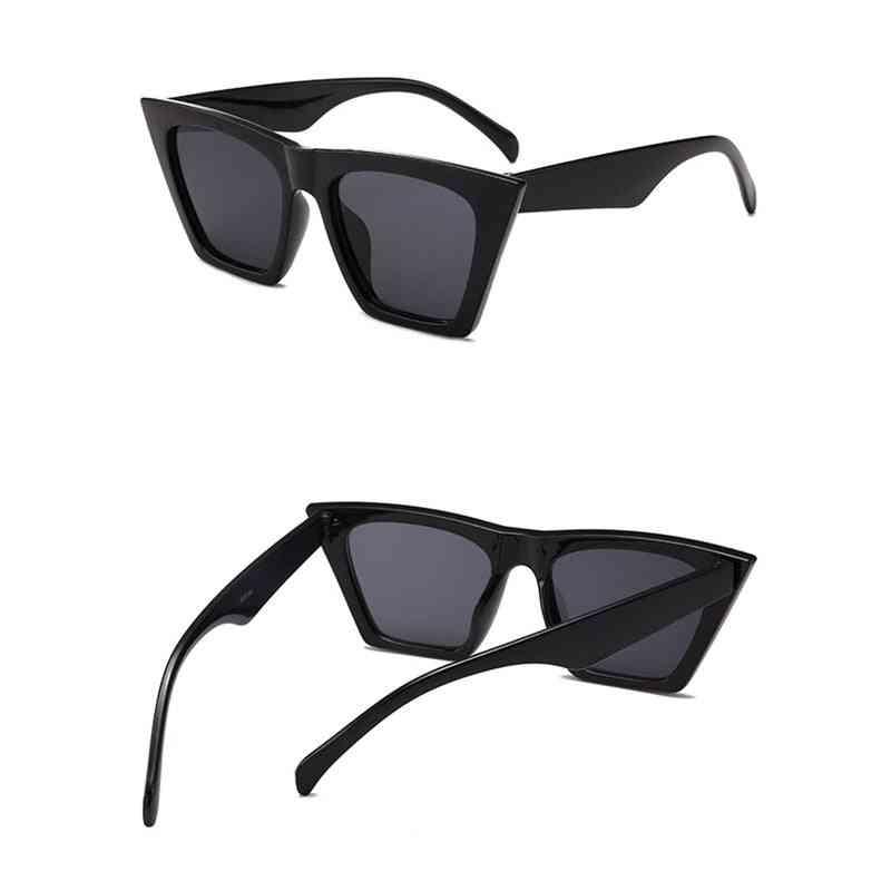 Women Cat Eye Sunglasses, Fashion Shades, Oversized Popular Driver Goggles