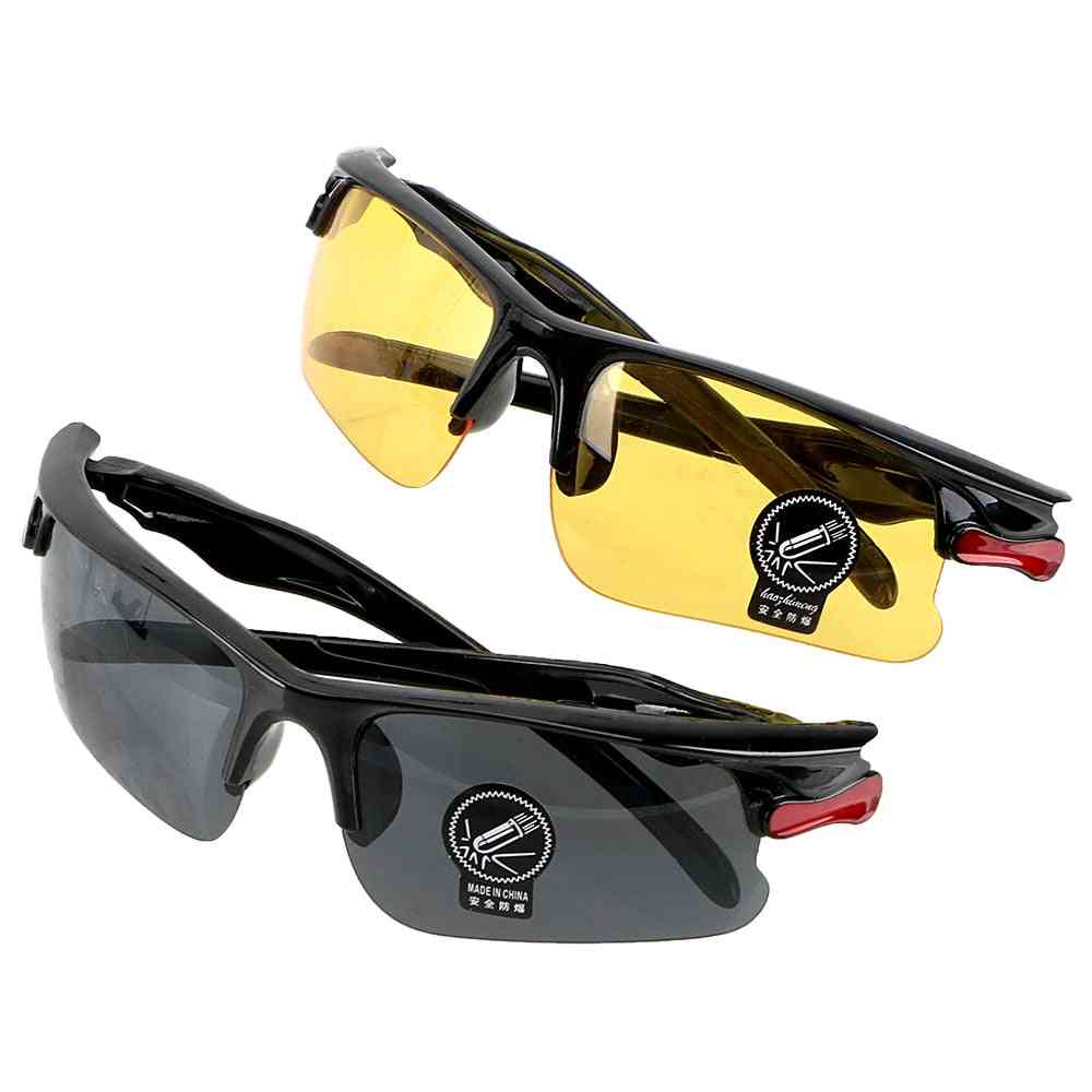 Night Vision Drivers Goggles, Driving Glasses, Protective Gears Sunglasses