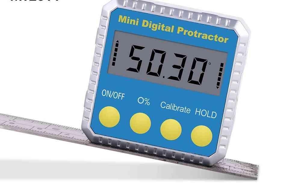 Universal Bevel 360 Degree-mini Electronic Digital Protractor Inclinometer Tester