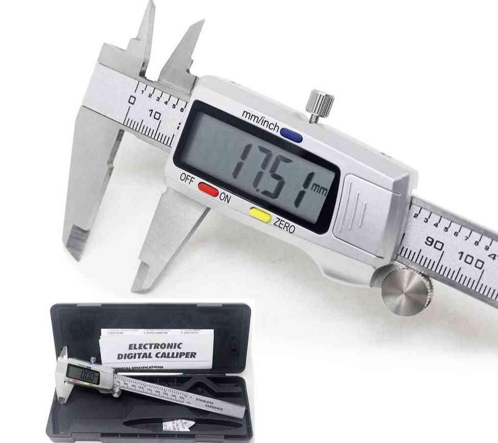Stainless Steel Digital Metal Instrument Vernier Calipers Measuring Tool