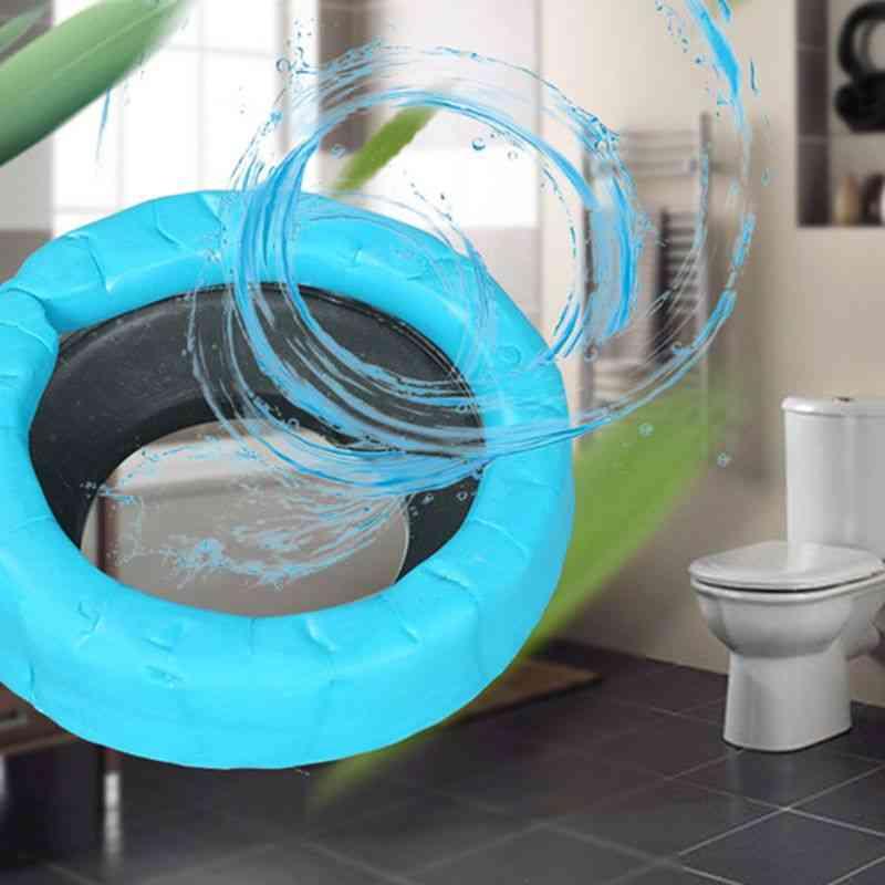 Toilet Bowl Flange Ring, Odor-resistant Drain Pipe Donut Sealing