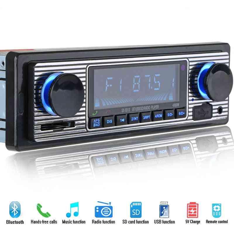 Bluetooth Car Radio Player Stereo