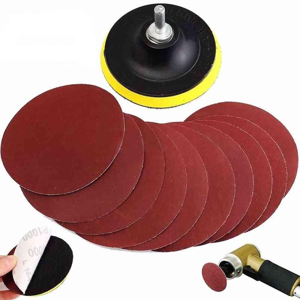 Hook Loop Sanding Backer Pad Sandings Disc Sander & Shank