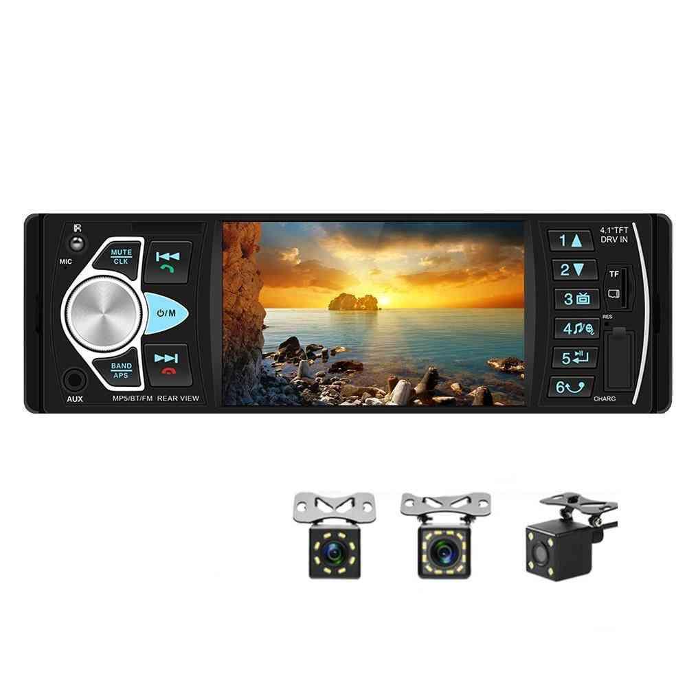 Car Radio Fm Stereo Audio Player Bluetooth