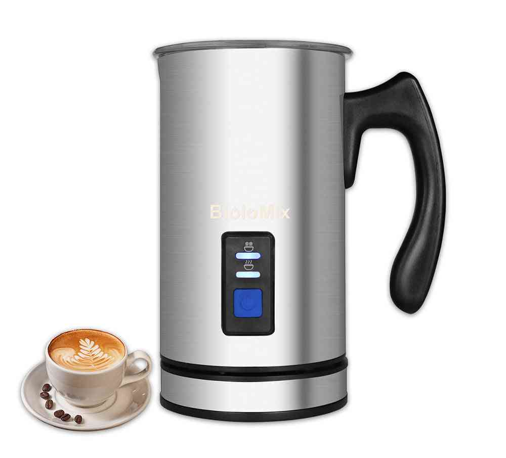 Electric Milk Frother, Steamer Creamer Milks Heater With Foam Density Chocolate