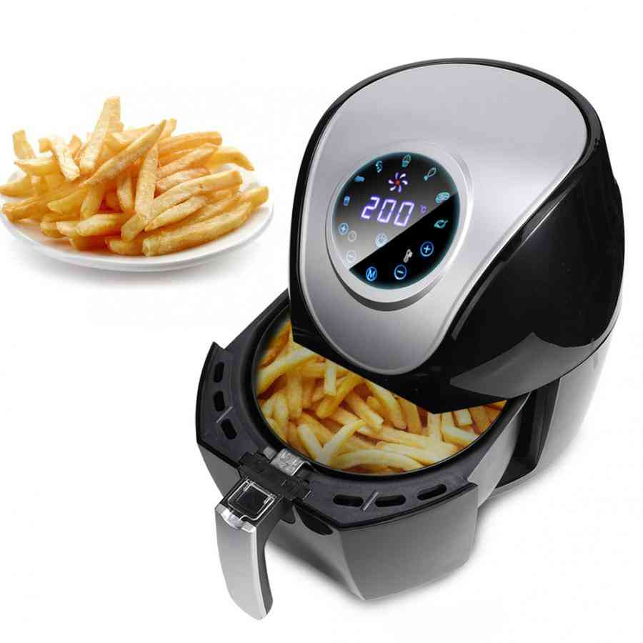 Smart Touch Screen Timer Temperature Control Multi-functional Air Fryer