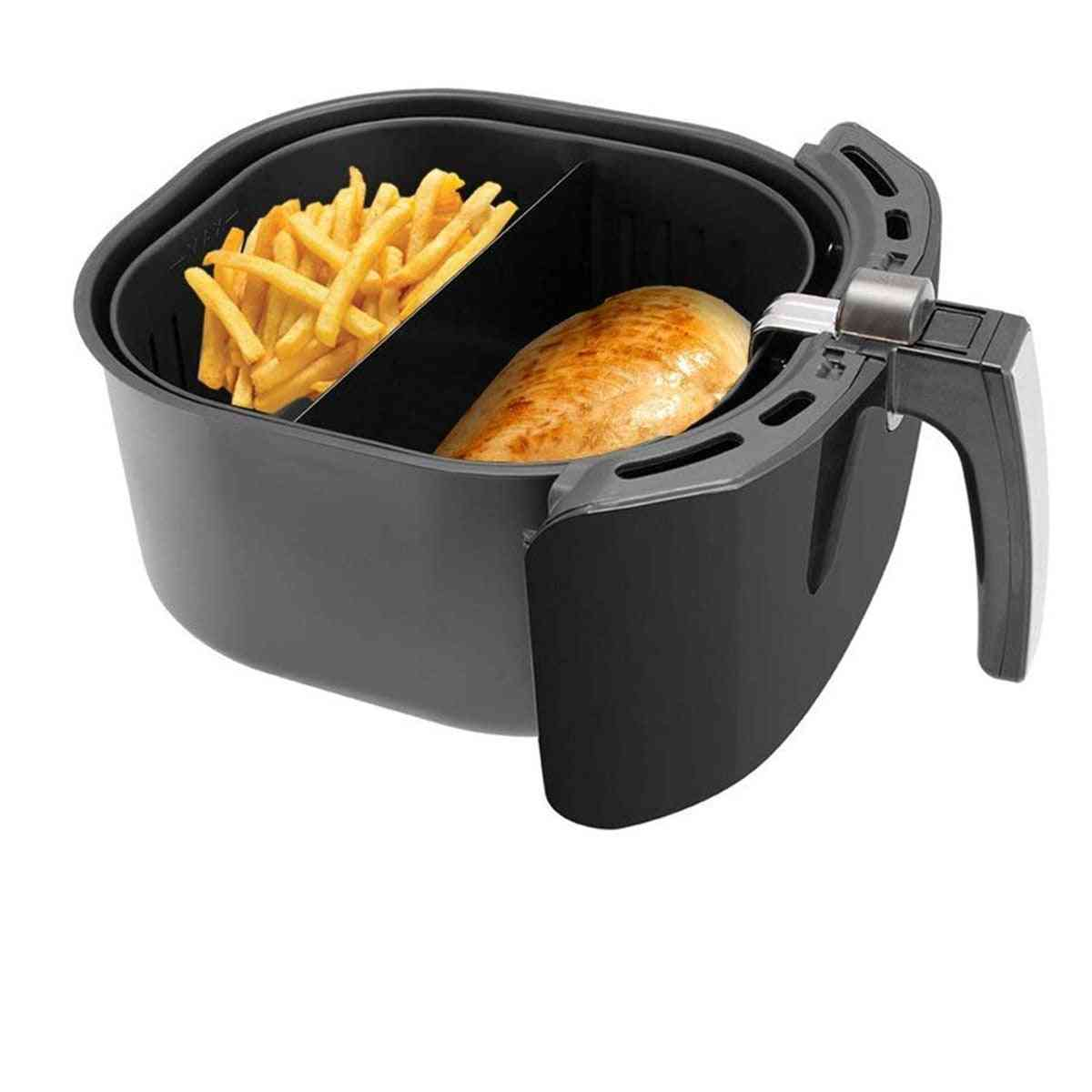 Air Fryer Cooking Divider, Compatible Baskets Keeps Food Separated