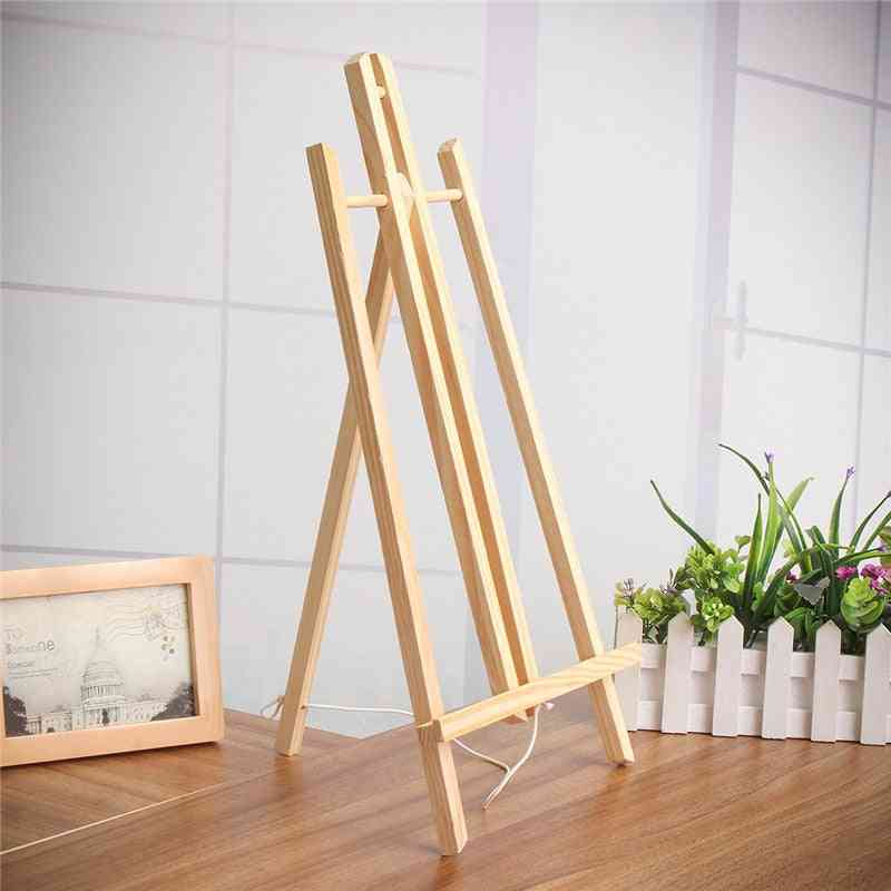 Beech Wood Table Easel For Artist Painting, Craft Wooden Stand