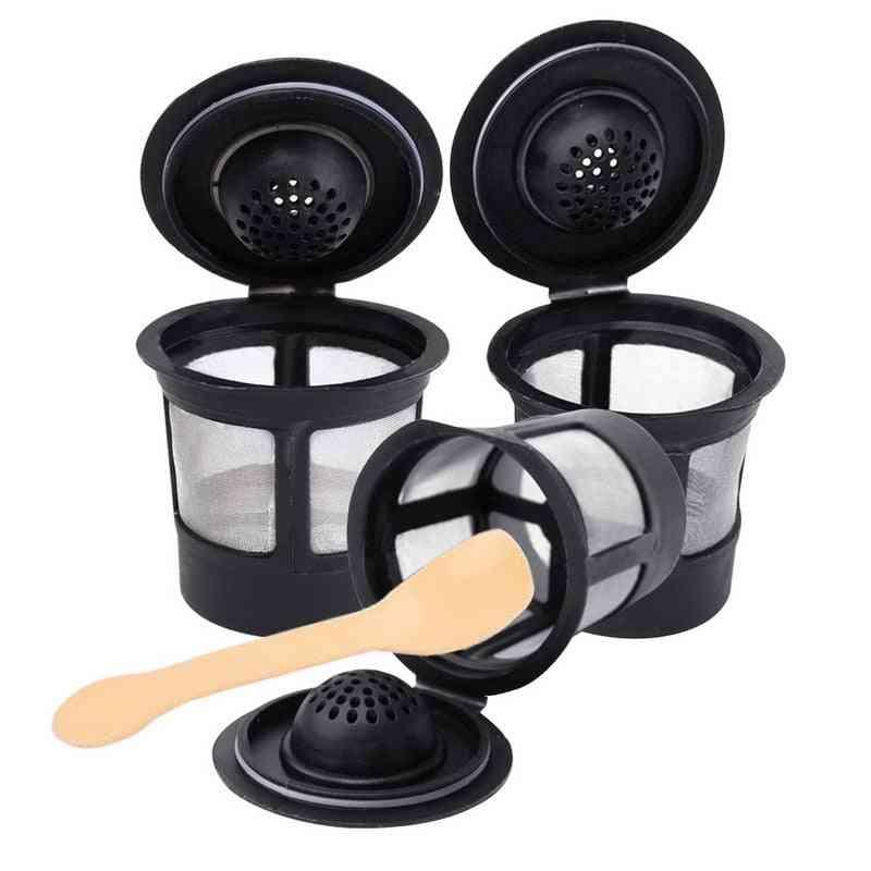 Reusable Refillable K-cup Coffee Filter Pod