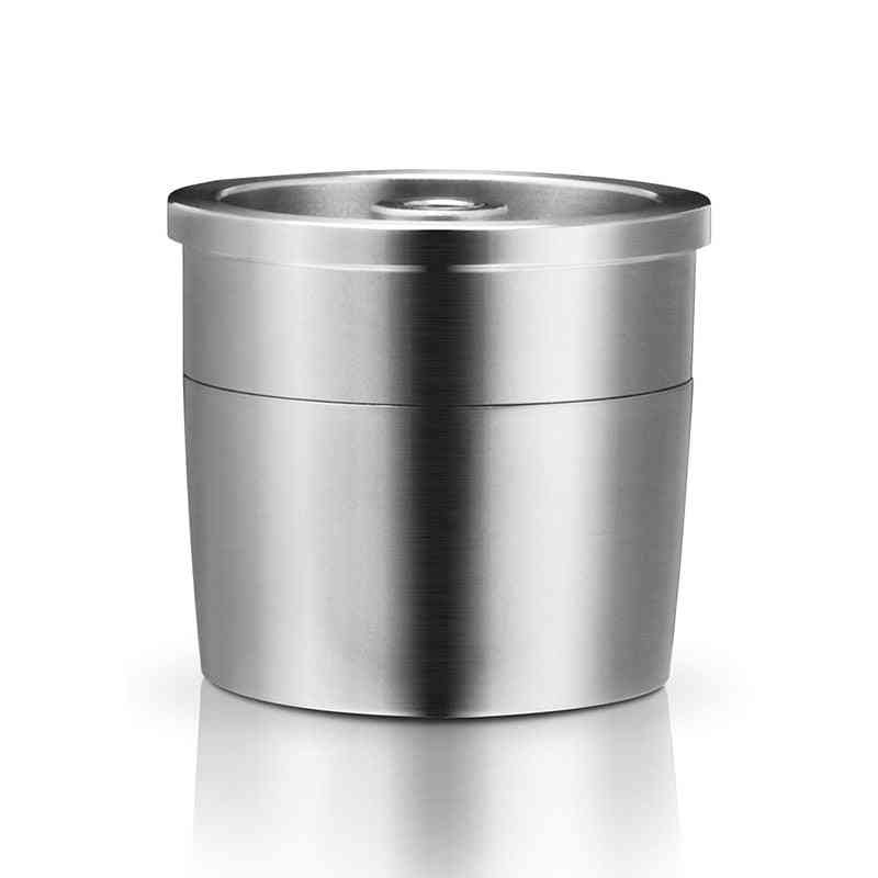 Stainless Steel  Reusable Capsule For Coffee Maker Machine