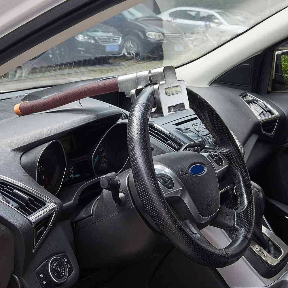 Anti-theft Top Mount Steering Wheel Lock