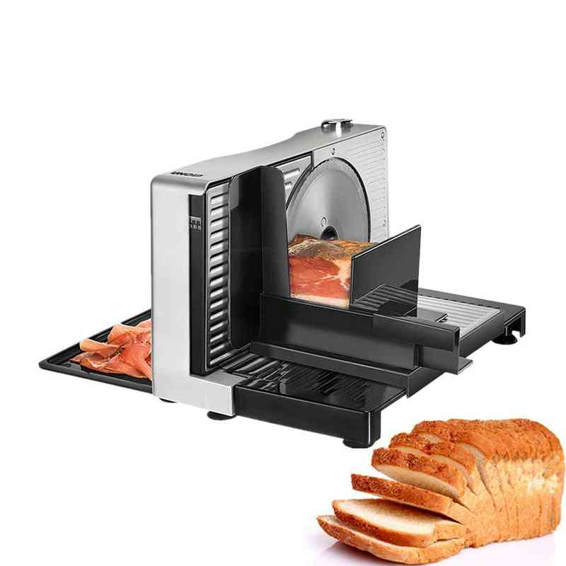 Electric Semi-automatic Meat Fruit And Vegetable Slicer