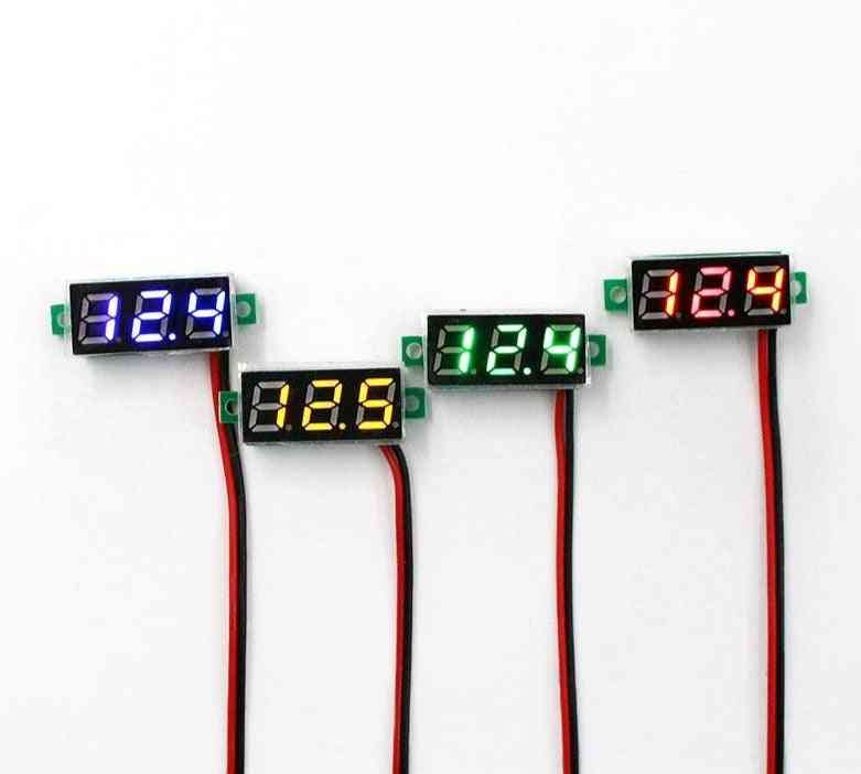 Digital Voltmeter Voltage Meter Auto Car Mobile Power Tester Detector