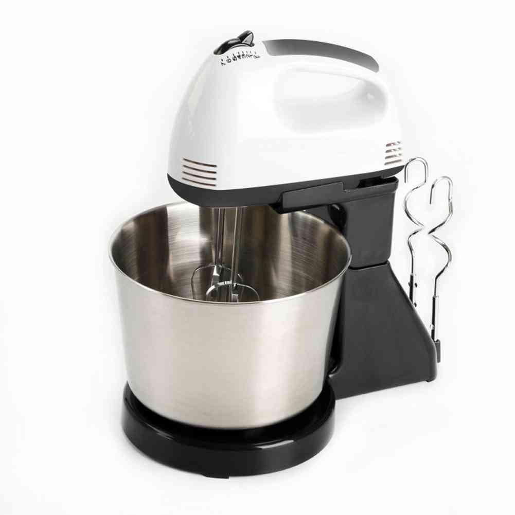 Kitchen Food Stand Mixer Cream, Egg Whisk Blender
