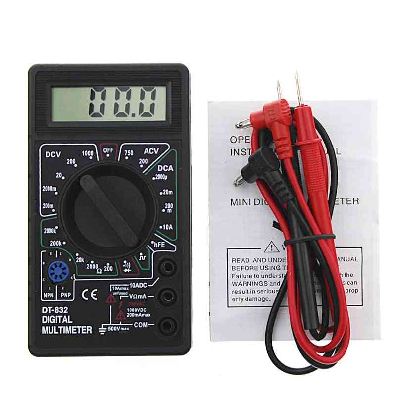 Professional Digital Multimeter With Lcd Display