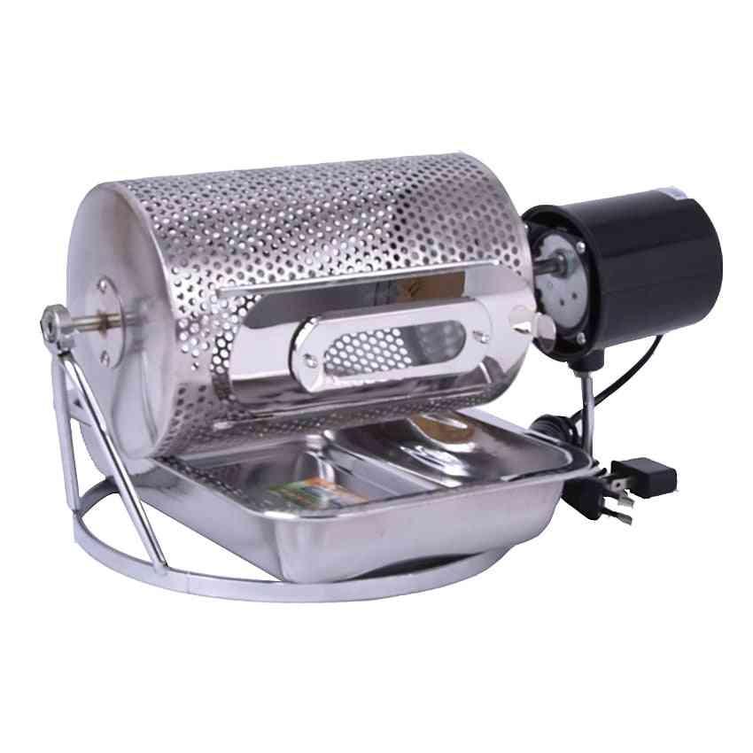 1pc Electric Stainless Steel Glass Window Coffee Bean Roaster Machine