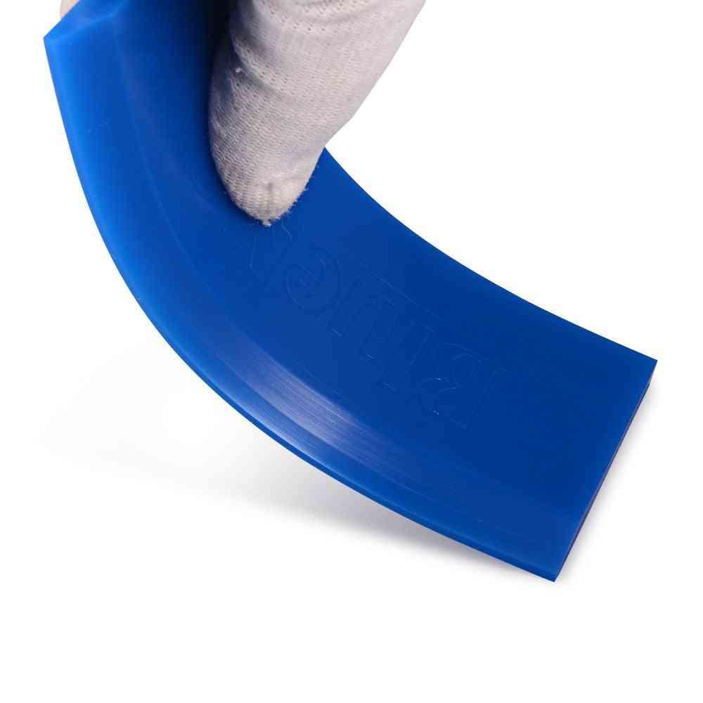 Rubber Bluemax Handle Ice Scraper Spare Blade, Glass Water Wiper