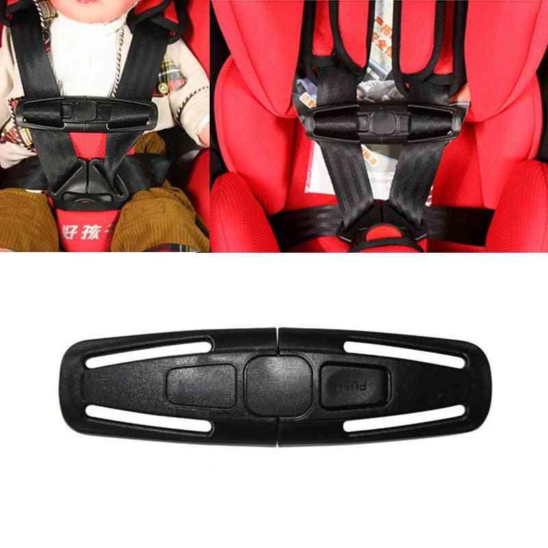 Car Safety Seat Strap Belt Harness Chest Clip Safe Buckle