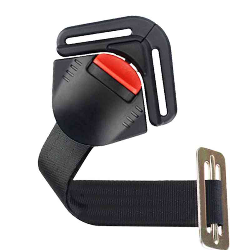 Universal Car Baby Safety Seat, Clip Belt Fixed Lock Buckle