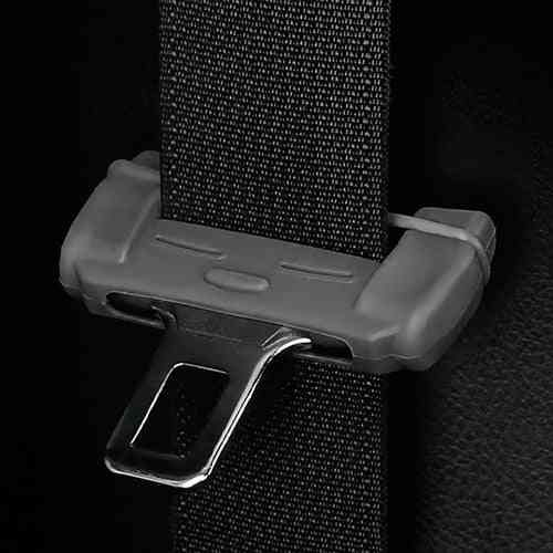 Car Safety Belt Buckle Protector Silicon Anti-scratch Cover Seat