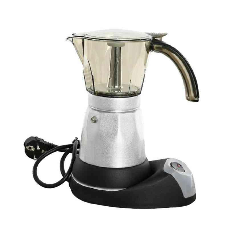 Portable Stainless Steel Electric Coffee Maker Tools, Italian Espresso Machine (300ml Eu)