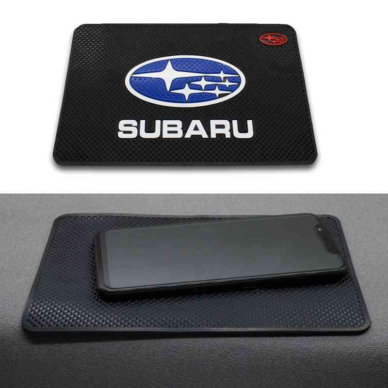 Car Logo Anti Slip Mat Phone Holder, Non-slip Mat Non Slip Pad