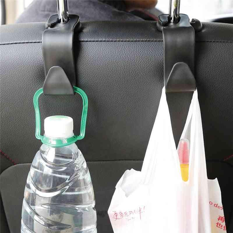 Universal Car Seat Back Hook Car Accessories, Interior Portable Hanger Holder Storage