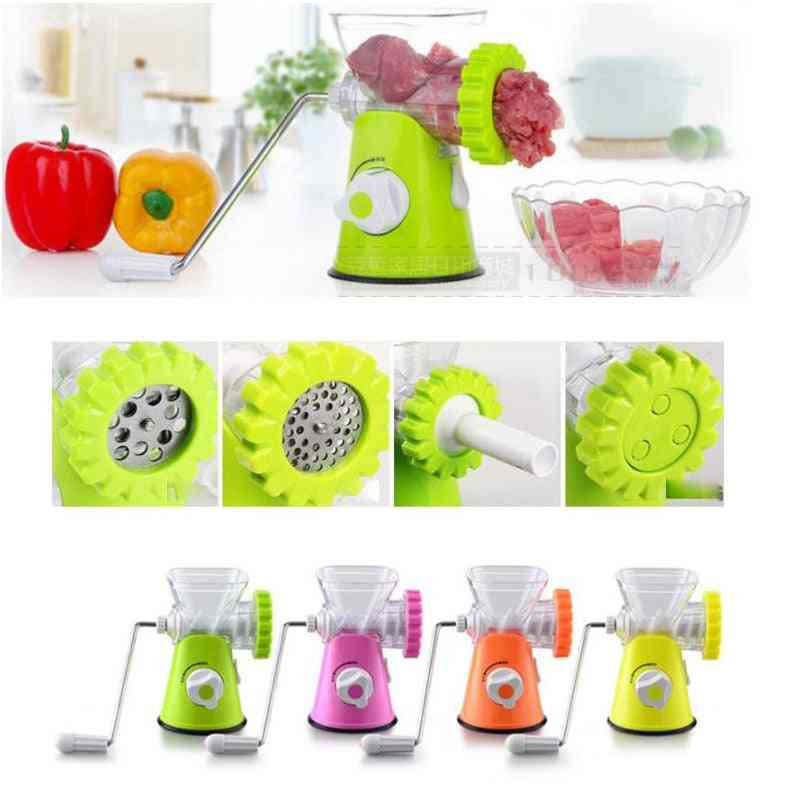 Household Meat Grinder Vegetable Slicer High-quality Multifunctional Household Stainless Meat Cutter