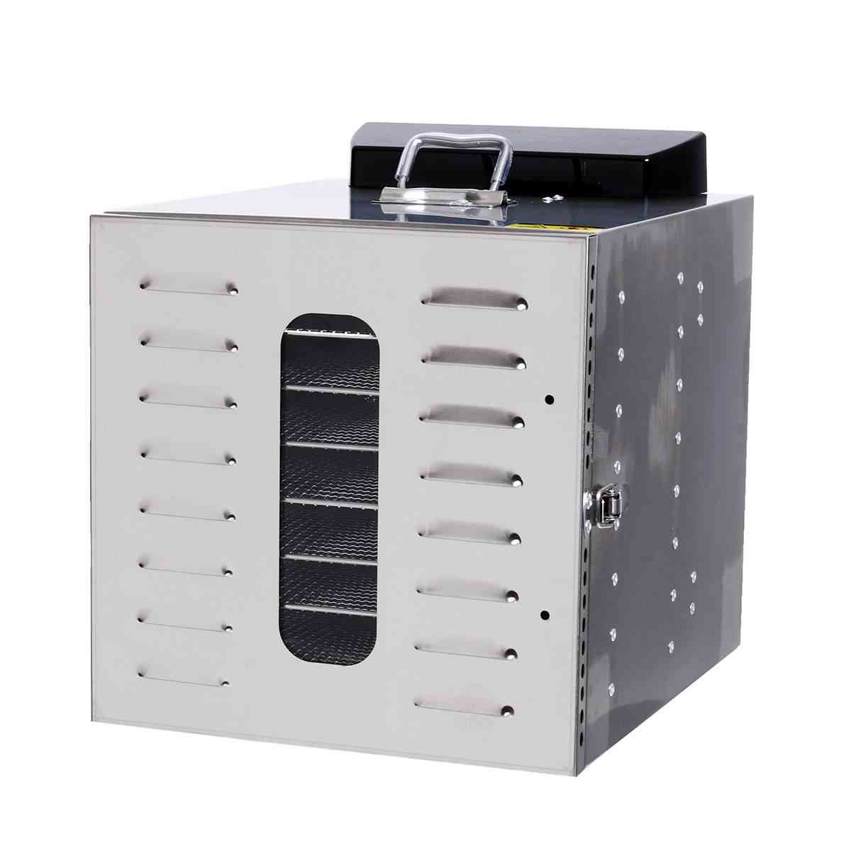 Fruit ,vegetable & Herb Meat Drying Machine, Stainless Steel Food Dryer