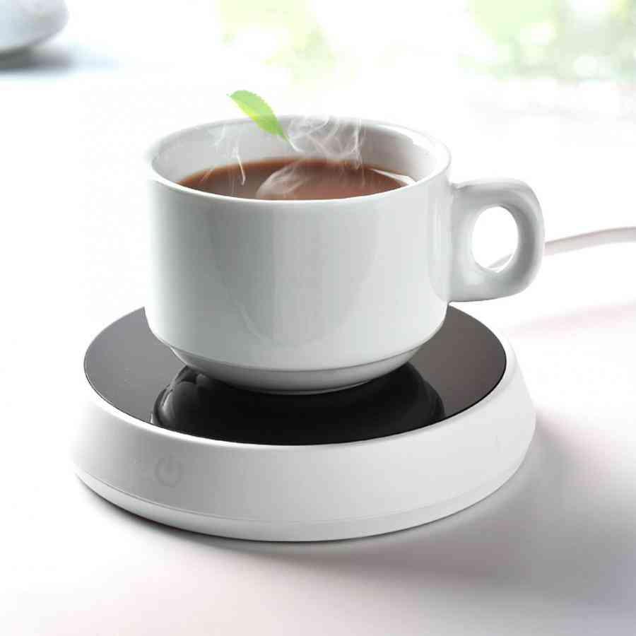 Electric Cup Warmer Pad, Cushion Heater For Coffee, Tea & Milk